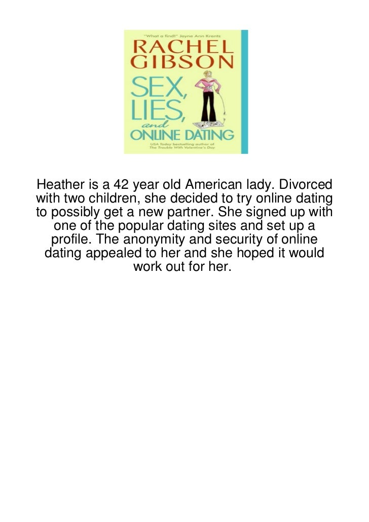 Heather is a 42 year old American lady. Divorcedwith two children, she decided to try online datingto possibly get a new p...
