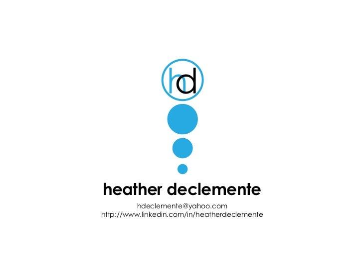 Heather D Portfolio 11 23