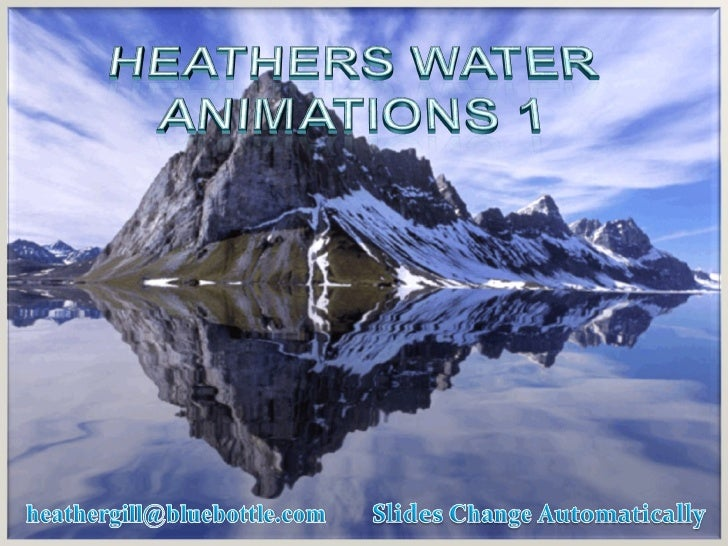 Heathers water animations 01