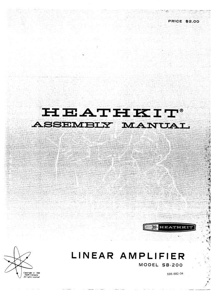 Heathkit sb200 manual