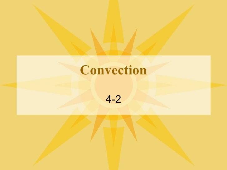 Convection 4-2