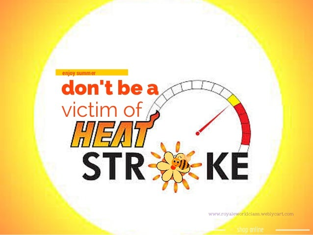 how to avoid heat stroke this summer
