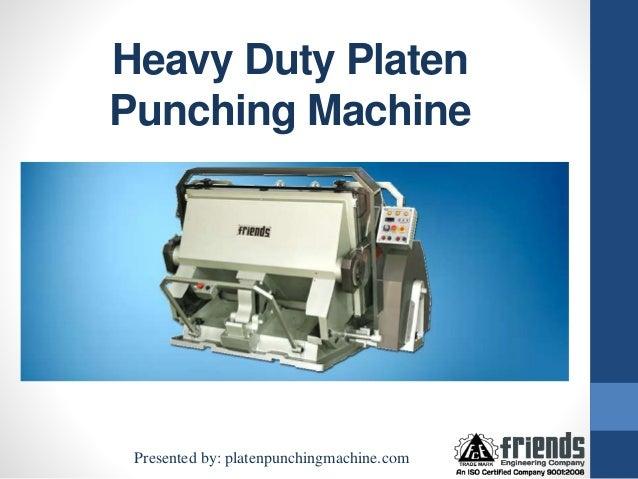 punching machine trick