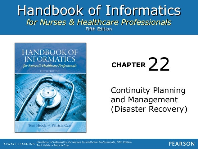Handbook of Informatics for Nurses & Healthcare Professionals                                          Fifth Edition      ...