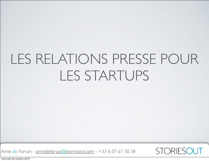 Relations Presse pour Startups : Pourquoi, quand, comment, avec qui?