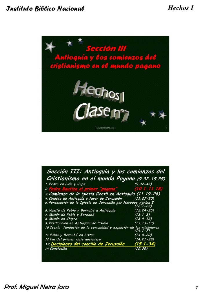 Hechos I Clase 07