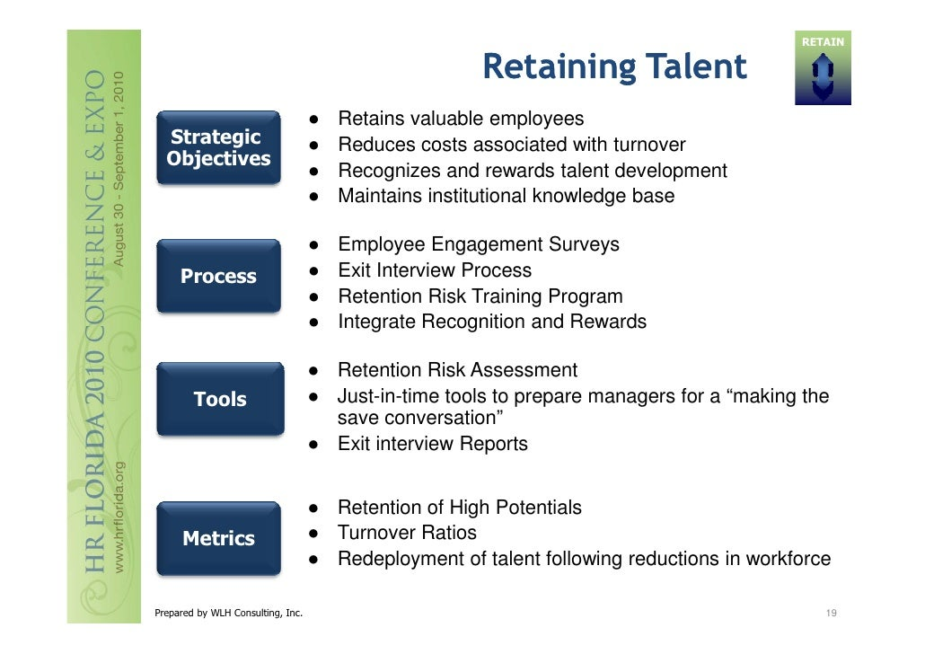 strategies in retaining talents Retaining top talent and creating a strategic succession plan february 2006  by dan parry and rob mason of futuresense, inc executives, managers, and.