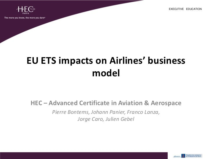 HEC - A&A Major - EU ETS Impact Analysis