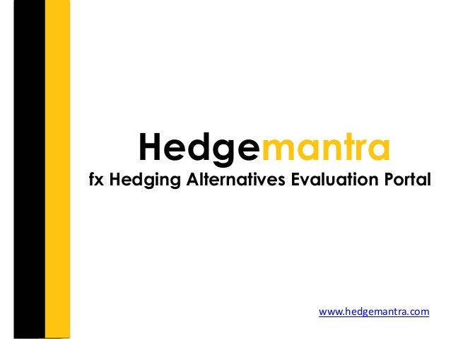 Forex hedging policy