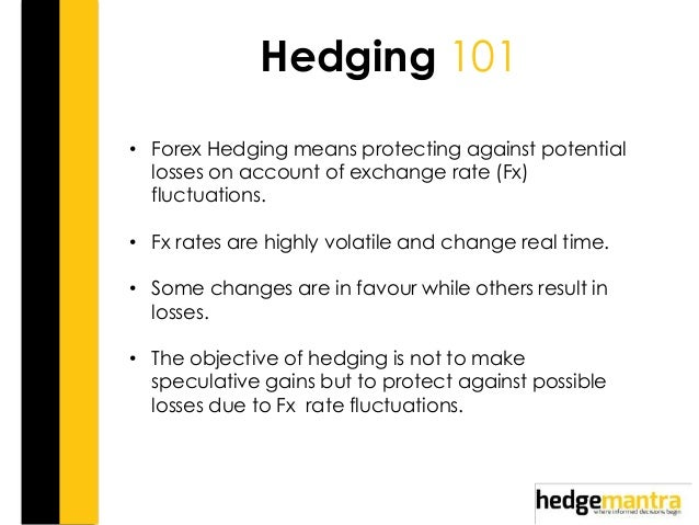 forex hedging with futures