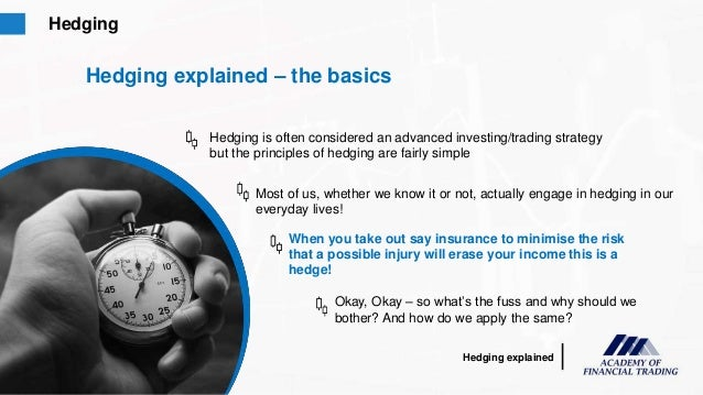Forex hedging explained