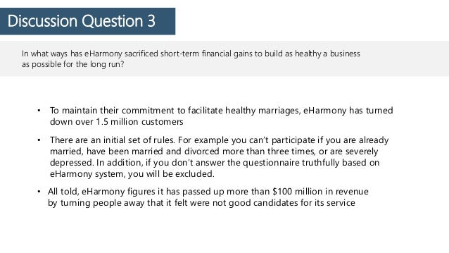 eharmony business case study