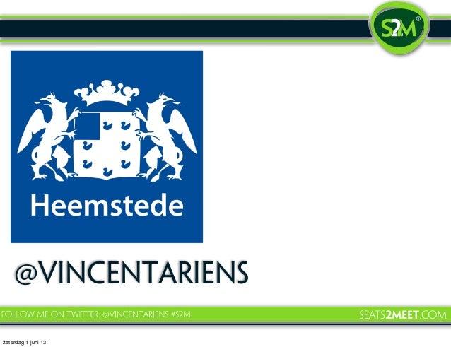 Presentatie #society30 Toekomst bibliotheek Heemstede - Vincent Ariëns