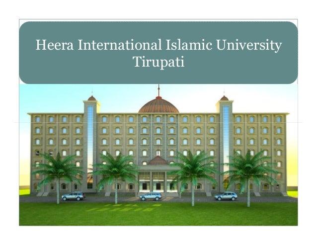 Heera International Islamic University Tirupati