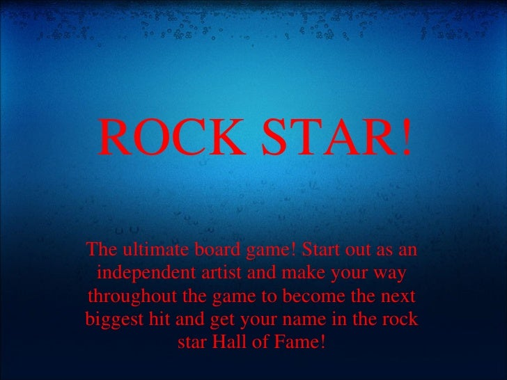 Rock Star: The Board Game