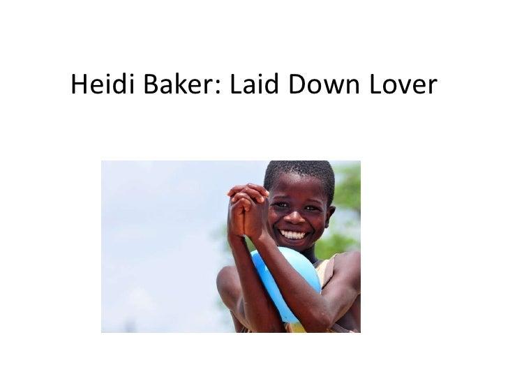 Heidi Baker: Laid Down Lover