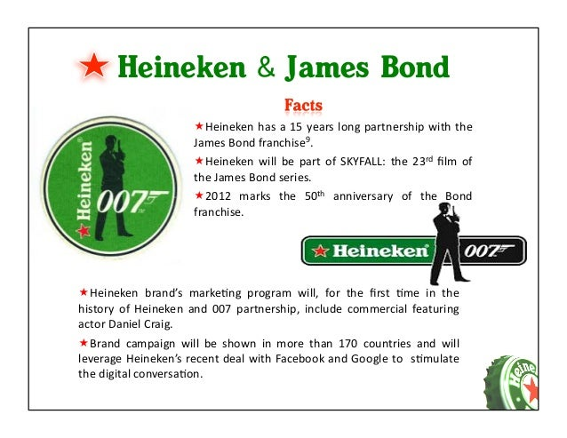 heineken market segmentation Heineken usa's media director shares the secrets to success he's  according to  research and consulting firm allied market research, the global  fall  underneath the heineken umbrella have their own target segments, too.