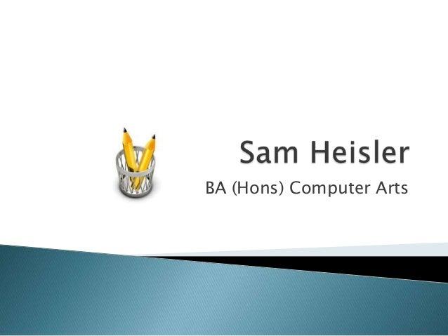 BA (Hons) Computer Arts