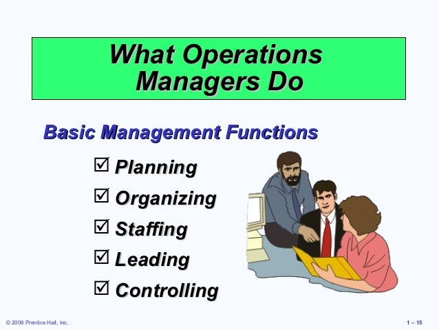 operations management 4 essay Welcome to operations management operations managementis important, exciting, challenging, and everywhere your look  what is operations management 4.