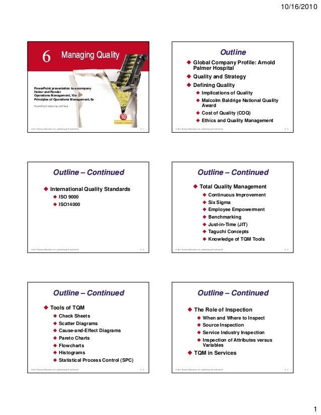 10/16/2010                                     Managing Quality                                                           ...