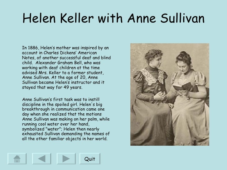 Informative speech on helen keller