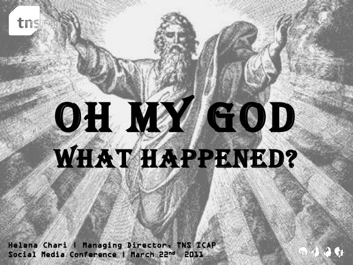 Oh my God         what happened?Helena Chari | Managing Director, TNS ICAPSocial Media Conference | March 22 nd 2011