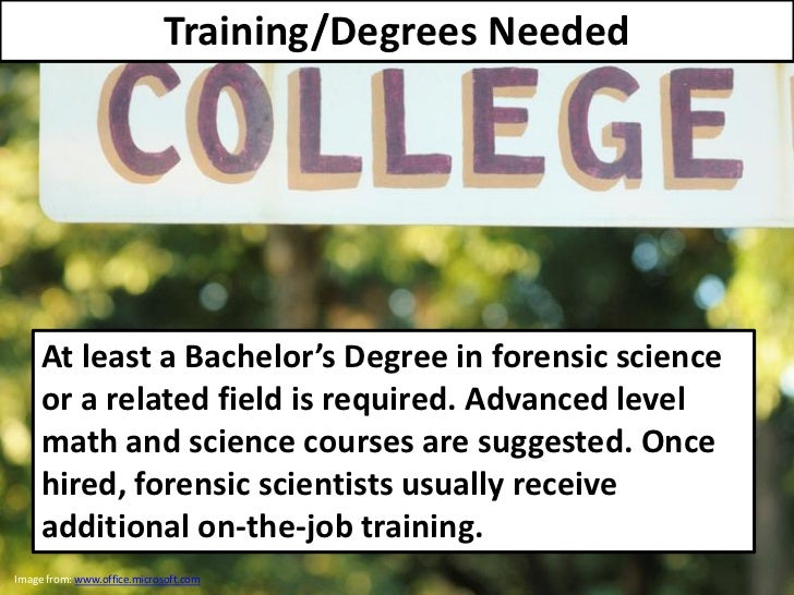 Degrees needed?
