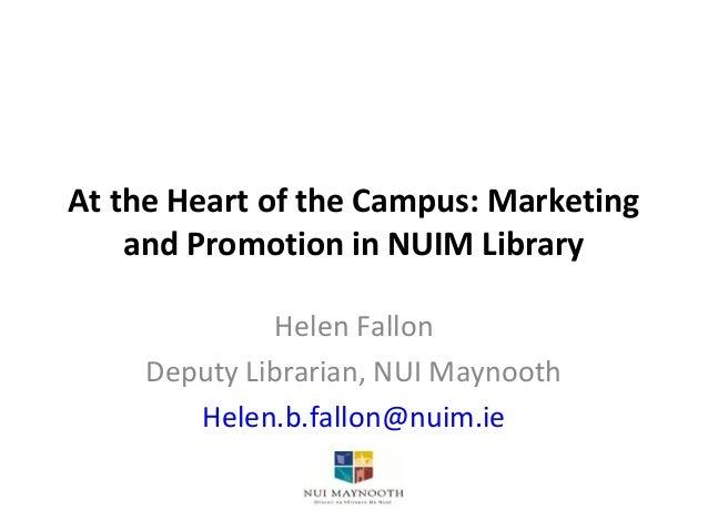 Helen fallon nuim library
