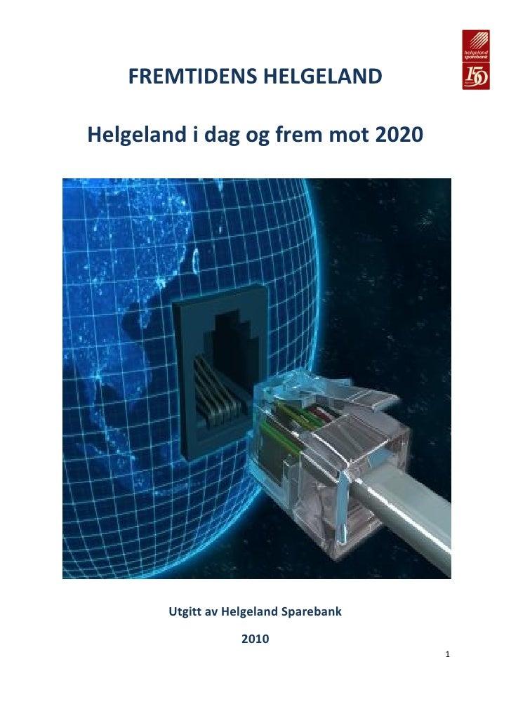 Helgeland mot 2020 - en fremtidsstudie