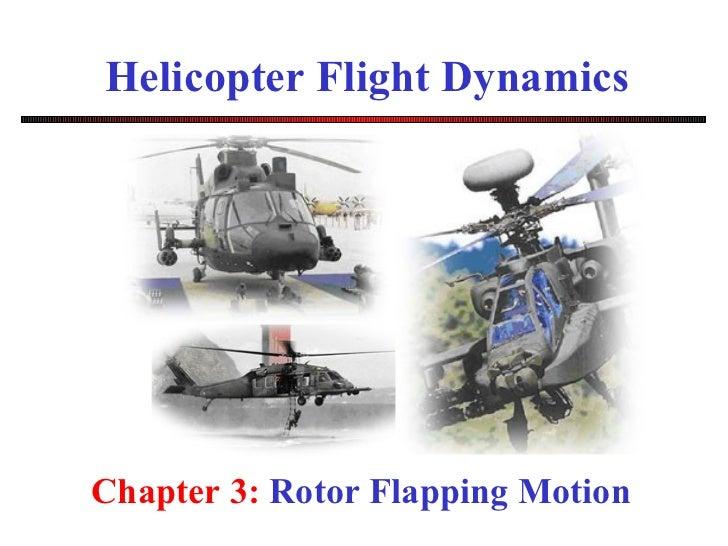 直升机飞行力学 Helicopter dynamics    chapter 3