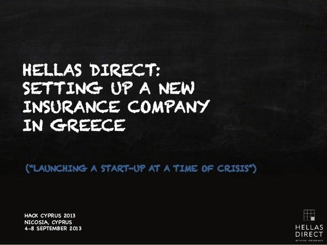 Hellas Direct - Hack Cyprus 2013