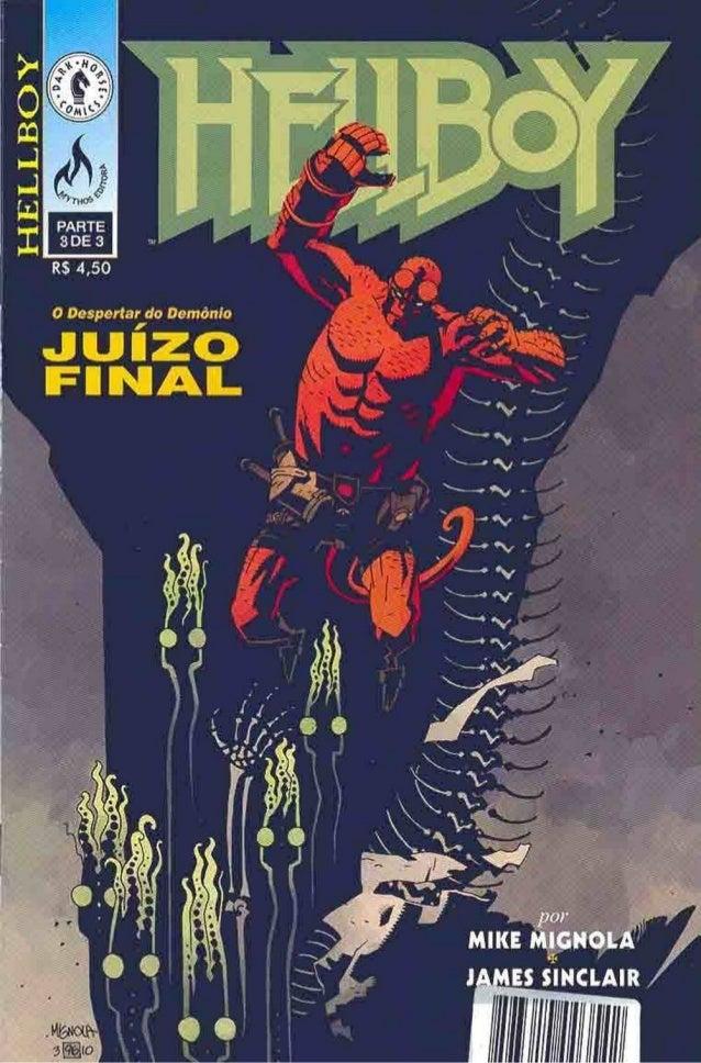 Hellboy o despertar do Demônio 03 de 03
