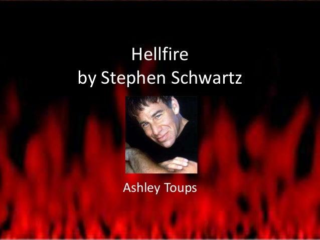 Hellfire by Stephen Schwartz  Ashley Toups