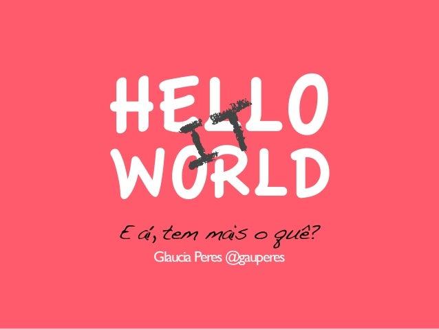 Hello it-world