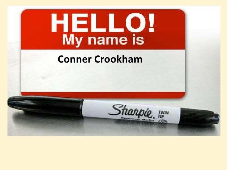 Conner Crookham<br />