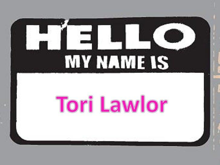 Hello,my nameis.lawlor