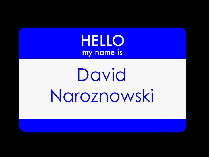 DavidNaroznowski
