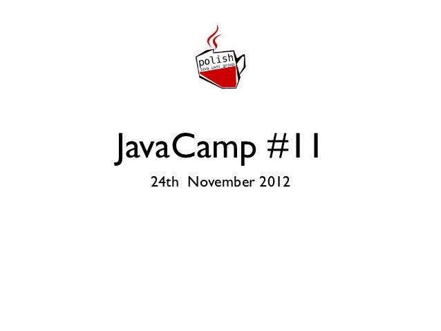 JavaCamp #11