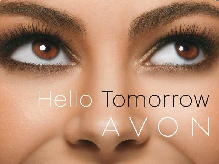 Hello Tomorrow Join Avon Today English