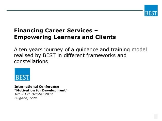 BEST                                                   PERSONALFinancing Career Services –Empowering Learners and ClientsA...