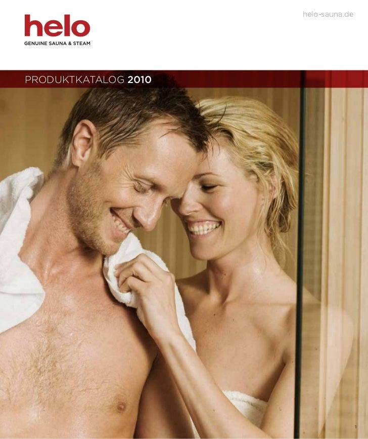helo-sauna.dePRODUKTKATALOG 2010                                      1