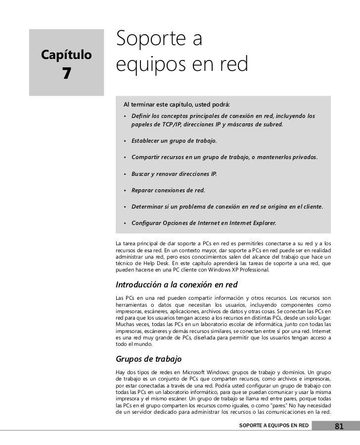 Help desk ch07-esp