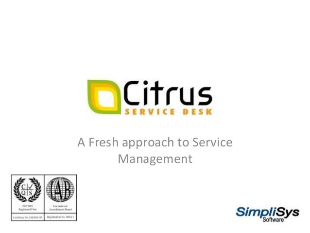 help desk software presentation