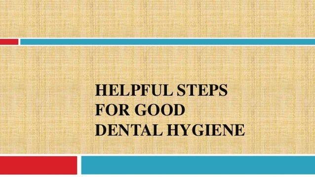 Dental Hygienist reach paper topics
