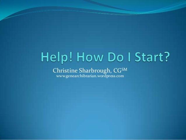 Help! how do i start (2)