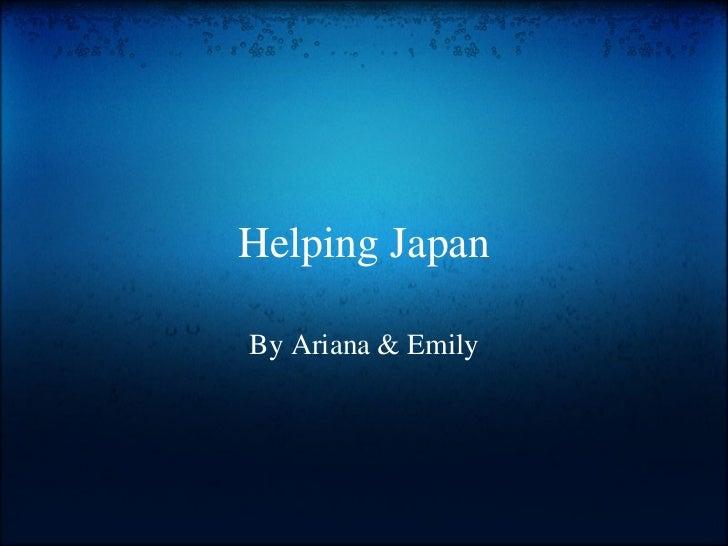Helping japan[1]