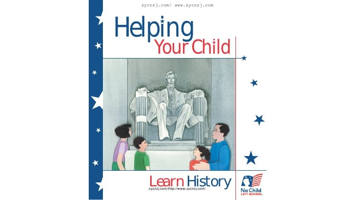 Helping your child learn history (pdf)