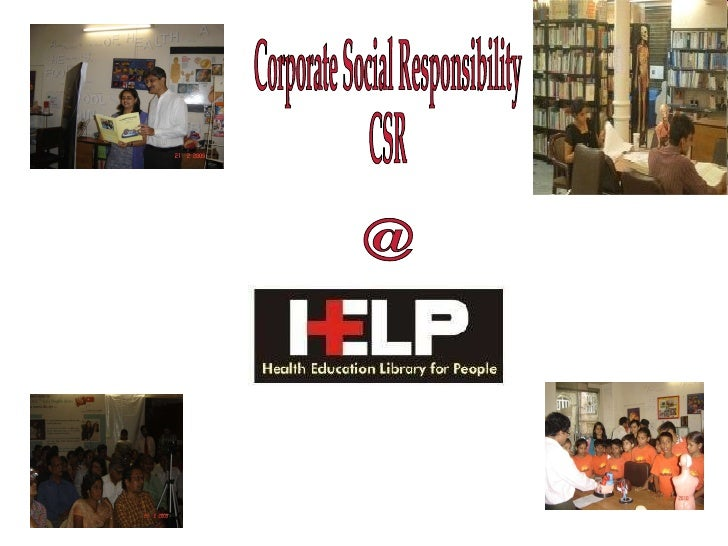 HELP Library Corporate Social Responsibility