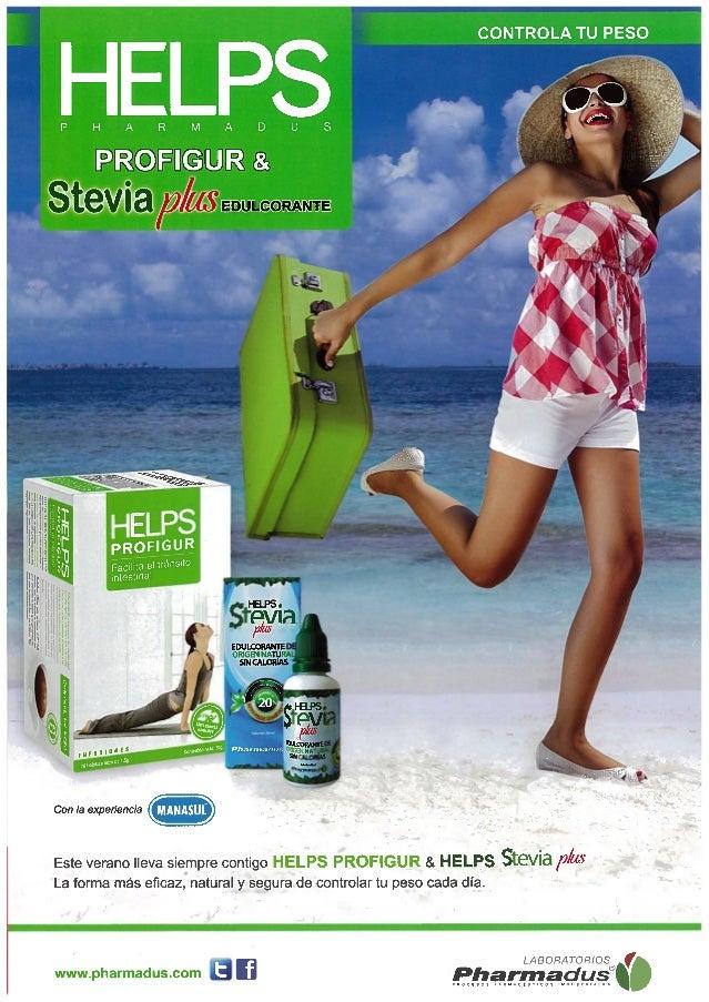 HELPS Profigur y Stevia en la revista Consejos de tu Farmacéutico