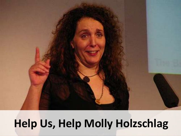 Help Us Help Molly Holzschlag